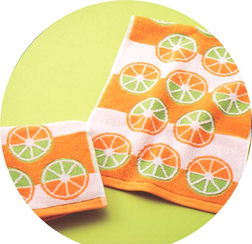 【bomdia】オレンジパターン